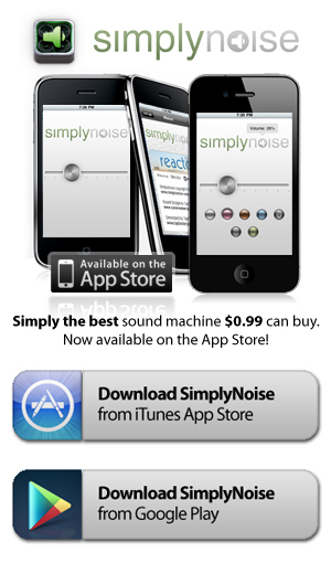 SimplyNoise -- The Best Free White Noise Generator on the